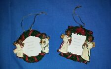 Princess House set of two angel frames #605