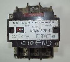 Cutler Hammer Contactor 135 Amp Nema 4  Starter  Ser. A1 AI  Model#- C10FN3