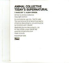 (DP614) Animal Collective, Today's Supernatural - 2012 DJ CD