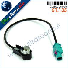 Adattatore antenna autoradio FAKRA-ISO per BMW serie 1 (E87 2004-2011)