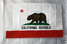 CALIFORNIA STATE flag 3'x5' FREE SHIPPING TO ALL USA COUNTRY STATES PATRIOTIC