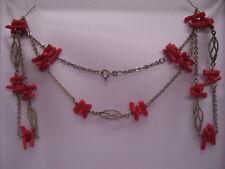 Edle Kette/Collier Halskette Korallen Korallenschmuck Korallenkette