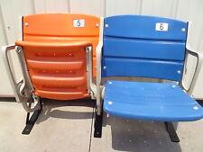 Shea Stadium seats, ORANGE & BLUE seat pair