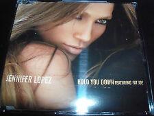 Jennifer Lopez Hold You Down Feat fat joe Australian 4 Track CD Single
