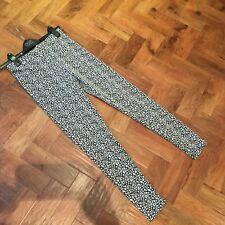 "TU stretchy leggings sparkly sz 10  Inside 25"" VGC"