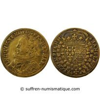 NUREMBERG, Hans Lauffer – JETON de compte Louis XIII – XVIIe siècle – F.12306