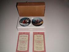 Hamilton Mystic Warrior Mini Plate Blue Thunder and Top Gun Box/Coa