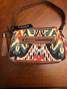 NEW WITH TAGS Chaps Alli's Ikat Desert Caravan Collection Purse Hand Bag Boho