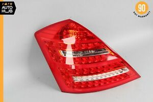 10-13 Mercedes W221 S400 S600 S63 AMG Left Driver Side Tail Light Lamp OEM