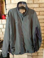 Vintage Men's Columbia Nylon Jacket Mesh Lined Sz XL Olive Green