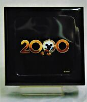 Disney Watch: 2000 with Leather Band in Acrylic Display Box