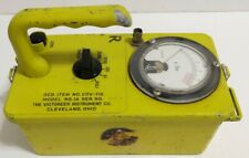 Victoreen Cdv 715 Model No 1a Geiger Counter Radiological Survey Radiation Meter