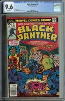 Black Panther # 1 CGC 9.6  WP
