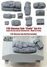 1/35 Scale Sherman Engine Deck Stowage Set #14 Firefly - Value Gear Resin