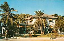 Dwight Eisenhower Little White House Naval Base Key West Florida FL Postcard
