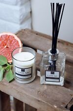 Candle & Diffuser Gift Set Grapefruit & Basil Scented Soy Wax & Luxury Gift Box