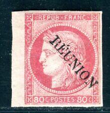 REUNION 1891 Yvert 12 * geprüft BRUN 100€(C3327