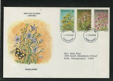 LESOTHO 1978 FIRST DAY COVER WILD FLOWERS