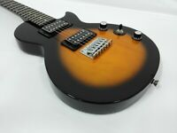 Epiphone Les Paul Express Electric Guitar,1/2 Size, Sunburst +Free Gig Bag,Strap
