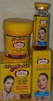 crème visage & blanchisseur  peau jaune  eclaircissante forte Anti-tâche lisse