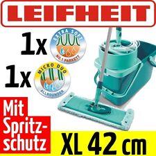 LEIFHEIT Clean Twist System Evo XL Bodenwischer Wischbezug Micro Duo Extra Soft