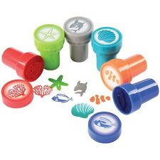 12 Sea Ocean Life Stampers Stamps Kid Party Goody Loot Bag Filler Favor Supply