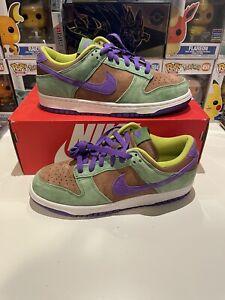 Never Used in Damaged Box Nike Dunk Low SP in Veneer/Deep Purple - BBS066 Size 7