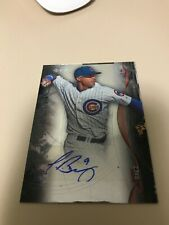 2014 Bowman Sterling Rookie RC SP AUTO Javier Baez (Chicago Cubs)