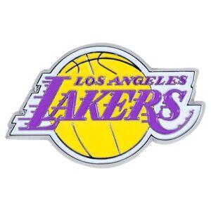 Los Angeles LA Lakers NBA Color Metal Car Auto Emblem Team Decal Logo Ships Fast