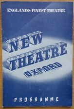 Sadler's Wells Theatre Ballet programme Oxford New Theatre 1956 Les Patineurs