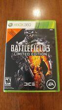 Battlefield 3 -- Limited Edition (Microsoft Xbox 360, 2011) MINT 2-DISC SET