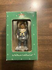 Navy Sailor 2004 Boyds Bearstone Teddy Bear 4� Christmas ornament Nib 257117