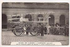 musée de l'armée campagne de 1914-1915 biplan français criblé de balles