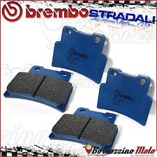 4 FRONT BRAKE PADS BREMBO CARBON CERAMIC APRILIA SL SHIVER GT-ABS 750 2013
