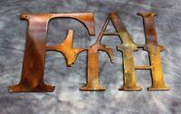 "Faith ""Boxed ""Metal Wall Art Decor"