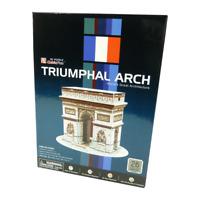 CubicFun - 3D Puzzle - Triumphal Arch Paris - 3D Puzzel - Bauwerk - Triumphbogen