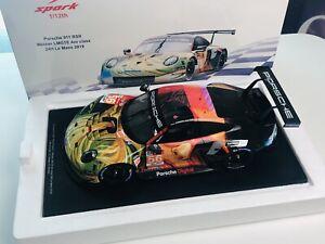 12S019 Spark 1/12 Porsche 911 RSR #56 Team Project 1 2019 Le Mans AM Winner