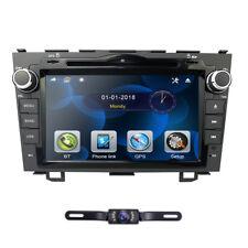 "For HONDA CRV 2008 2011 GPS Navigation 8"" Car Stereo DVD Player Radio Rear CAM"