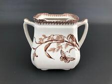 Antique T&R BOOTE ceramic sugar bowl Aesthetic Movement 1880's 1890's England