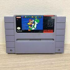 Super Mario World (Super Nintendo, 1991) SNES Game Cartridge