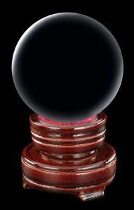 Wahrsager Kugel mit Halter - 6 cm - Kristallkugel klein Orakel Magie Deko