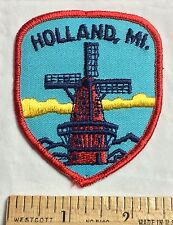 Holland Michigan MI Dutch Windmill Souvenir Patch