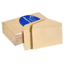 100 PCS Recycling Kraftpapier Umschläge Braun Mailing-Umschlag V Klappendichtung