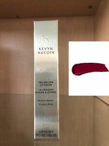 Kevyn Aucoin The Molten Lip Color KATE .1oz (deep merlot) NEW IN BOX!