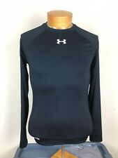 Under Armour Black Compression Shirt Long Sleeve Heat Gear Men's Size Large