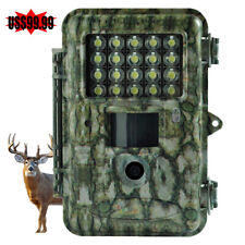Boly Trail Game Camera Motion Sharp 18Mp 1080P White Led Flash for Deer Hunting