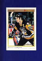 Mario Lemieux HOF 1990-91 O-PEE-CHEE OPC Premier Hockey #63 (NM) Penguins