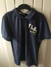 Older Boy's Clothes 10-11 Yrs - Smart Collared Navy Blue Short Sleeve Top