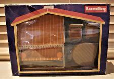 Lundby vintage : salon de jardin + balancelle