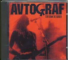 Avtograf-TEAR DOWN THE BORDER RARE MHR CD 1991